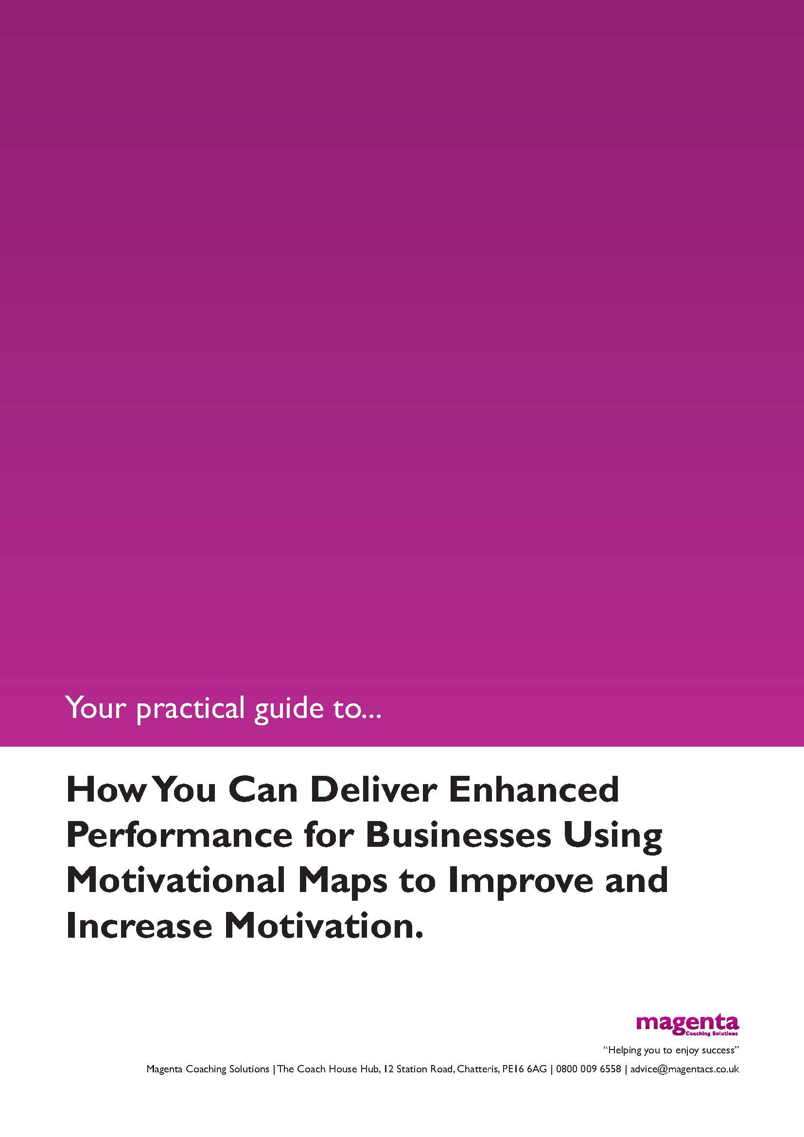 Motivational Mapping in Business guide.1