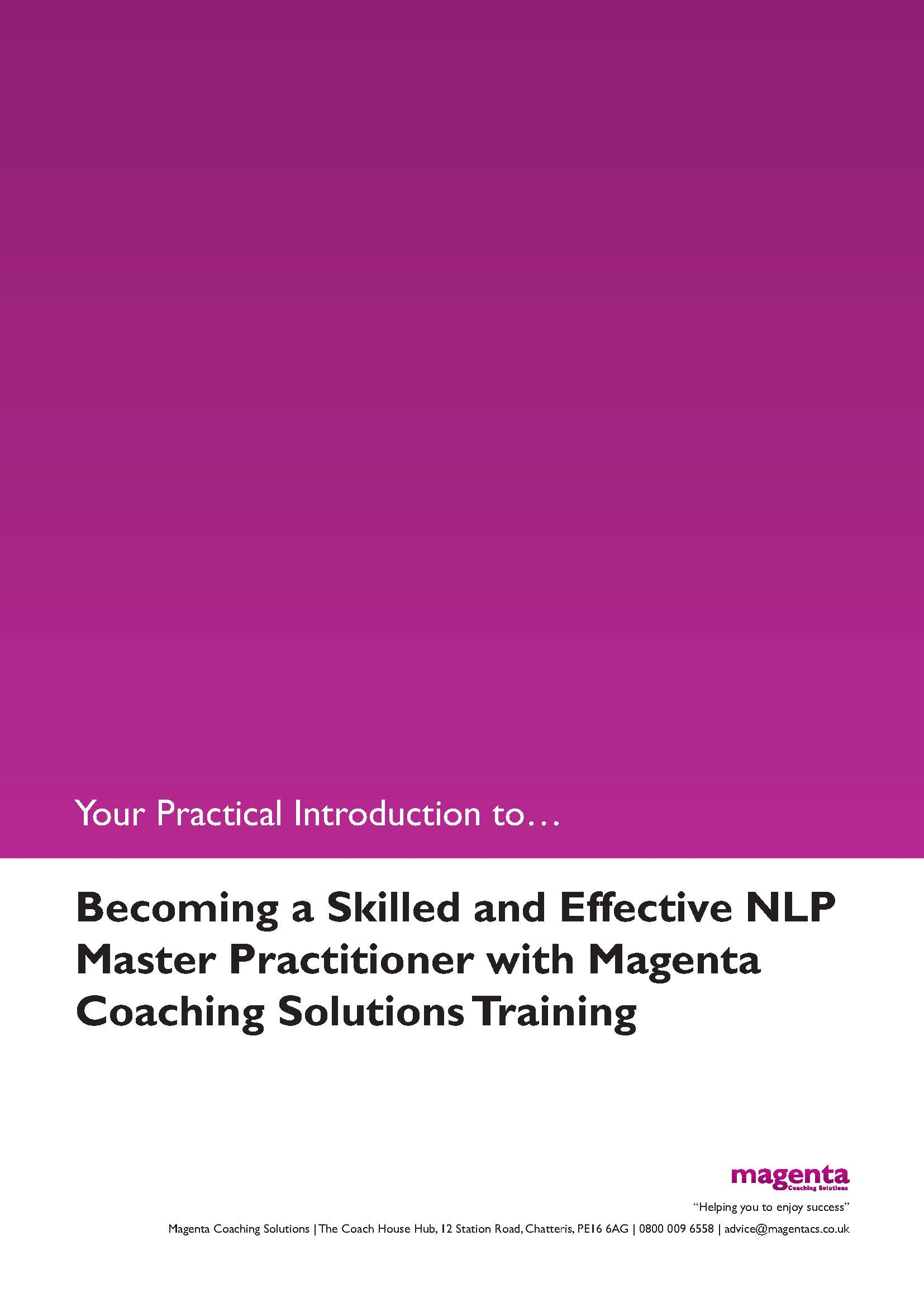 NLP Master Practitioner Guide.1